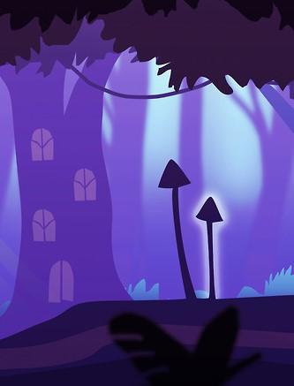 Sprites – background illustrations