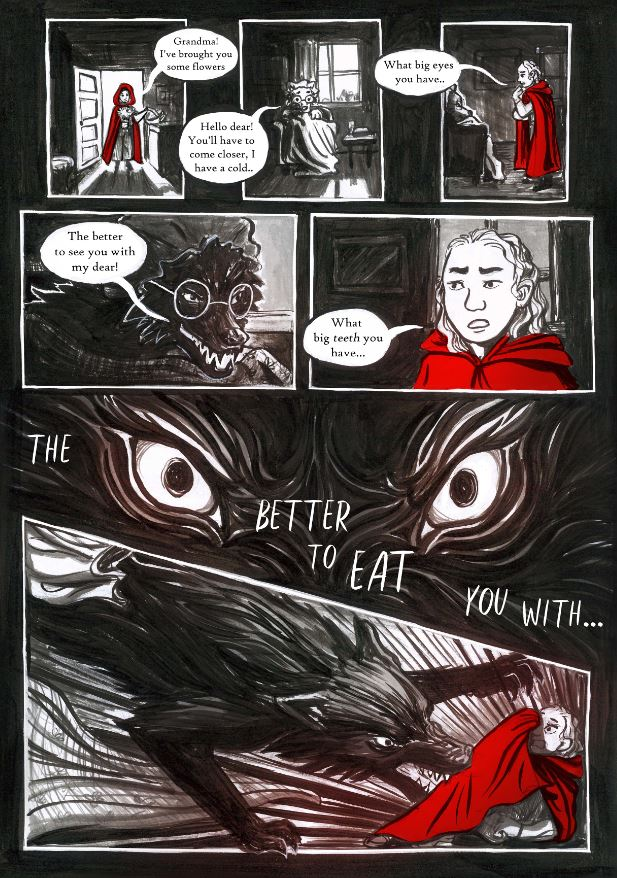 A Little Red Comic