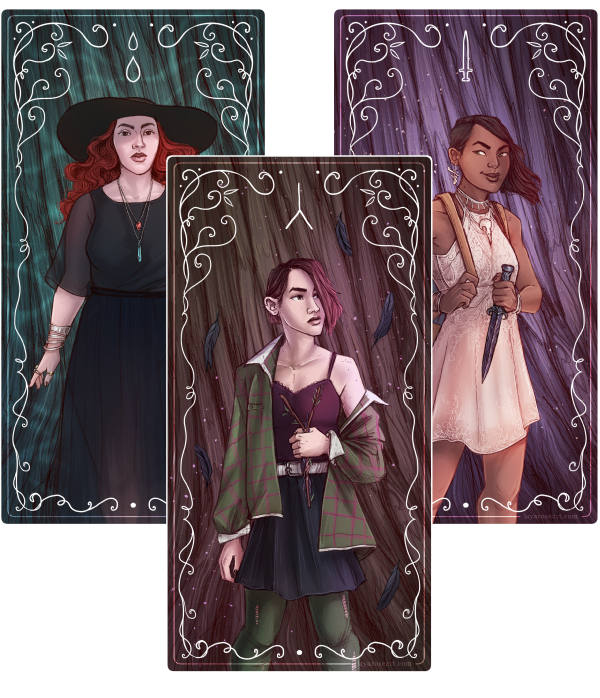 The Lost Coast Character Designs
