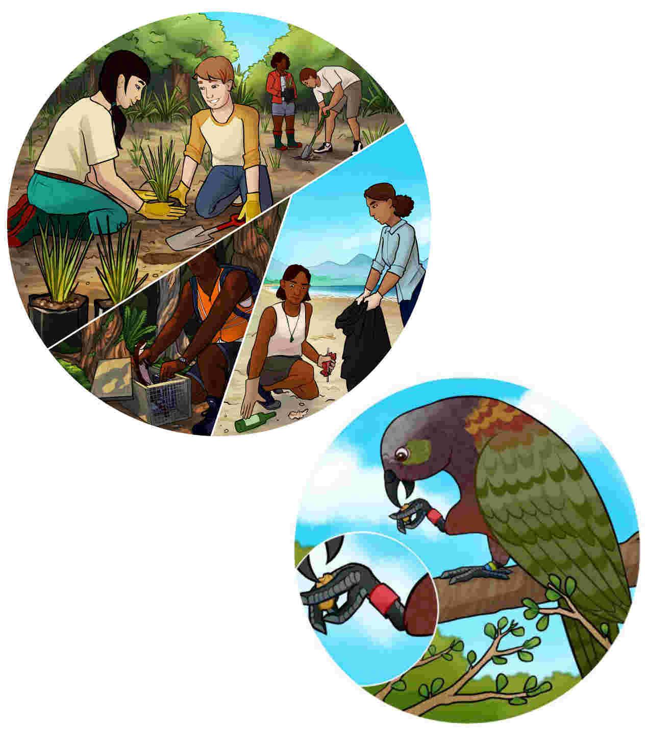 Wildbase Illustrations
