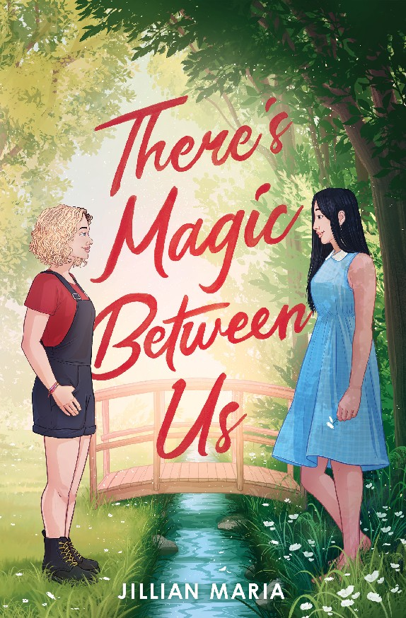 There's Magic Between Us Cover Design