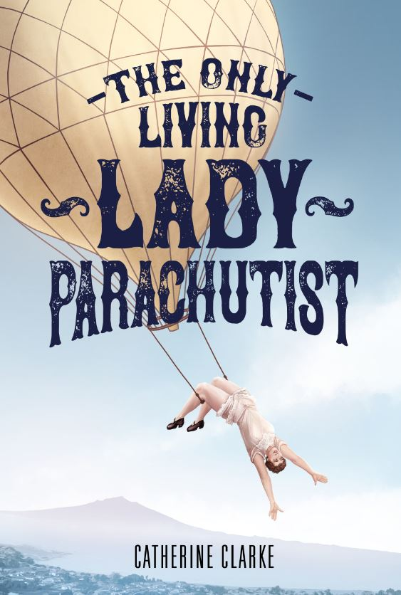 The Only Living Lady Parachutist Cover Design