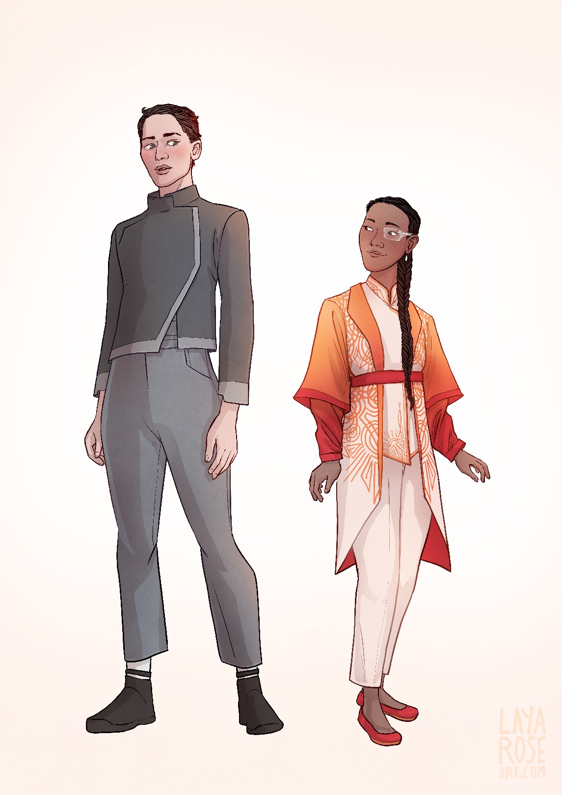 A Memory Called Empire Character Designs