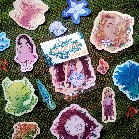 Overgrown Stickers