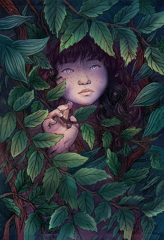 Em Illustration (Overgrown)