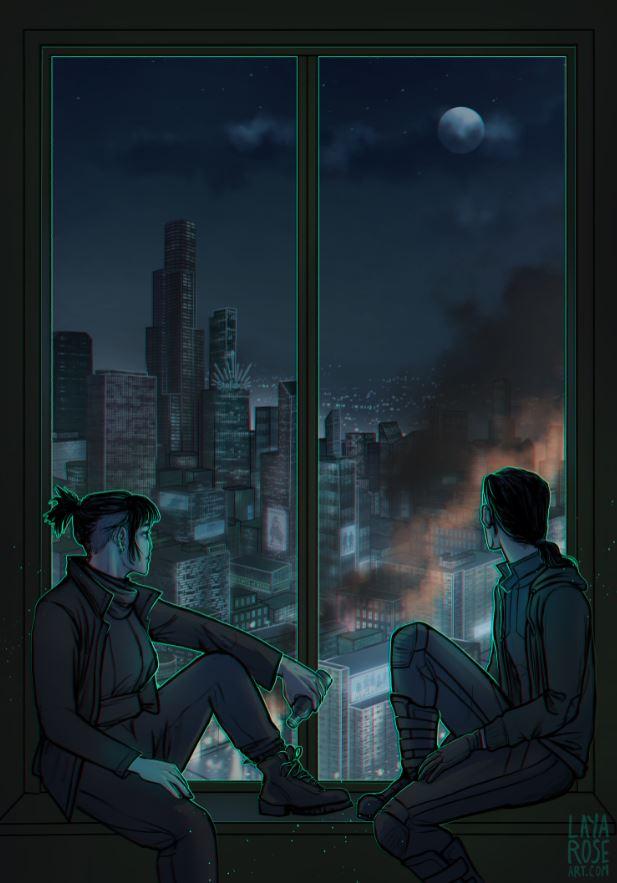 Firebreak Illustration
